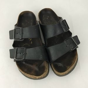 Birkenstock Sandals Size 38 US 7/7.5 Birko Flor